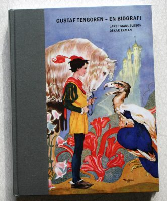 Omslag till biografi om illustratören Gustaf Tenggren