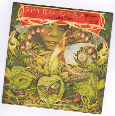 Single cover to Spyro gyra Morning dance with faires