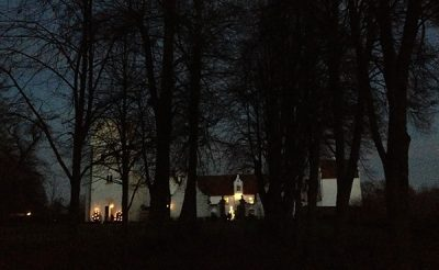 julmarknad på Bosjökloster
