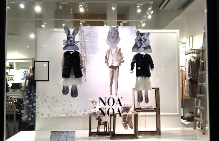 Photo of Noa Noa shop window with cute animals