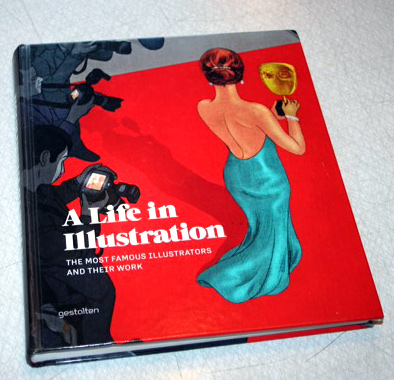 Omslag till boken A life in Illustration