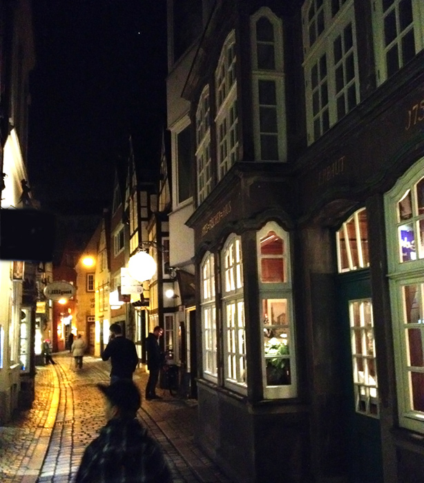 bremen-late-night-old-town