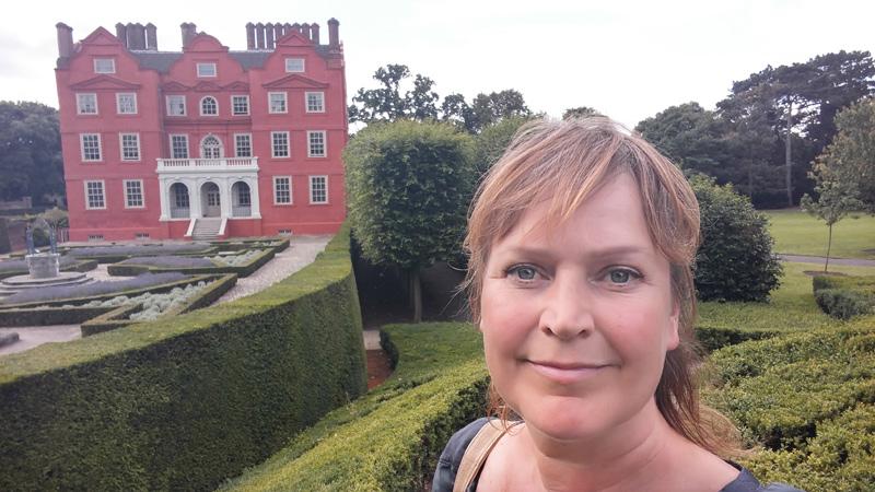 På besök i kungliga Kew garden palace i England