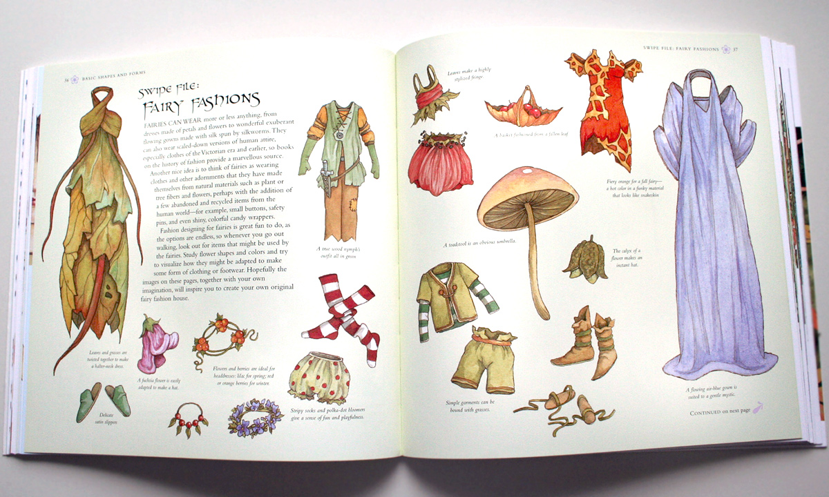 How to draw and paint fairies book by Ravenscroft