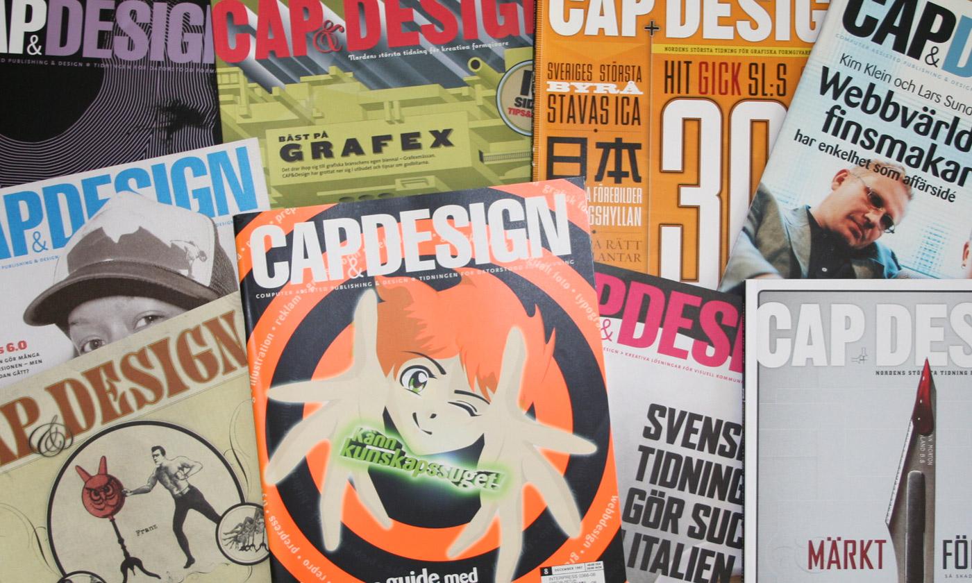Äldre Cap&Design-tidningar