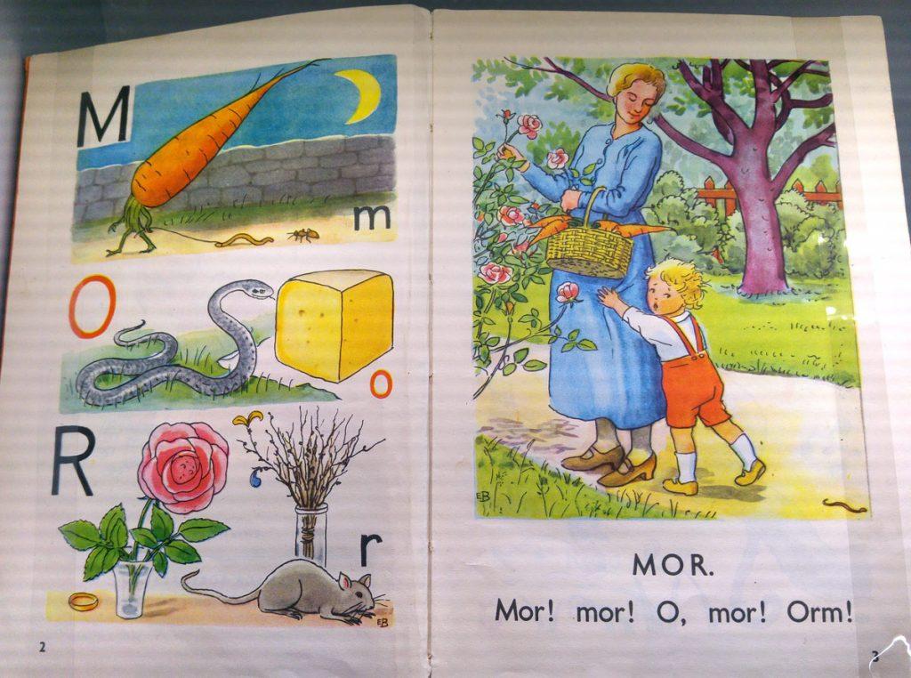 Elsa Beskow 1935 Vill du läsa Mor en orm!