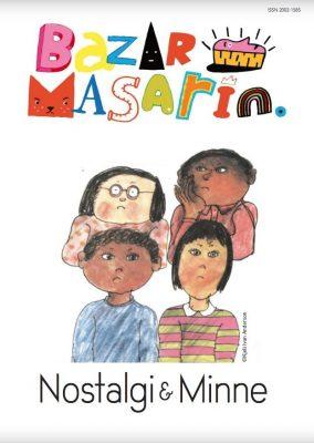 Omslag till tidskriften Bazar Masarin