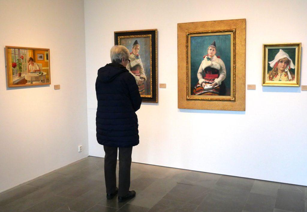Jenny Nyström-utställning på Sven-Harrys konstmuseum 2018