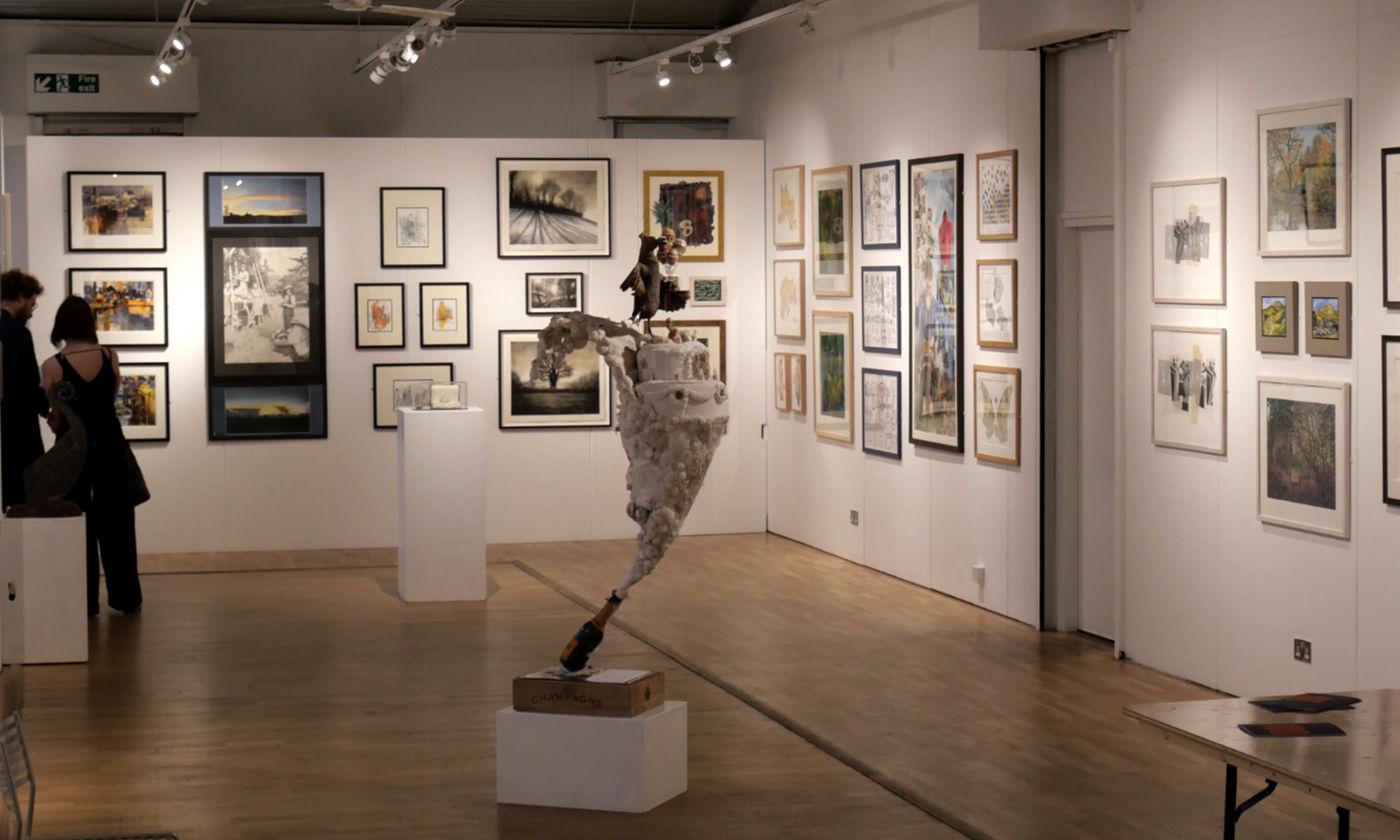 Bankside Gallery teckning utställning