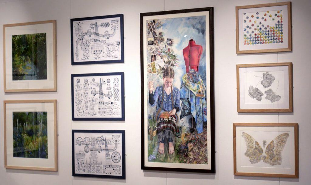 Tavlor från The Drawing Society 100 år
