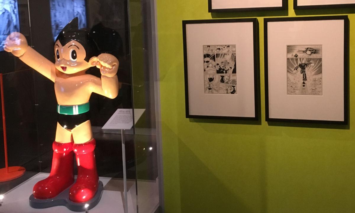 Manga-utställning i London