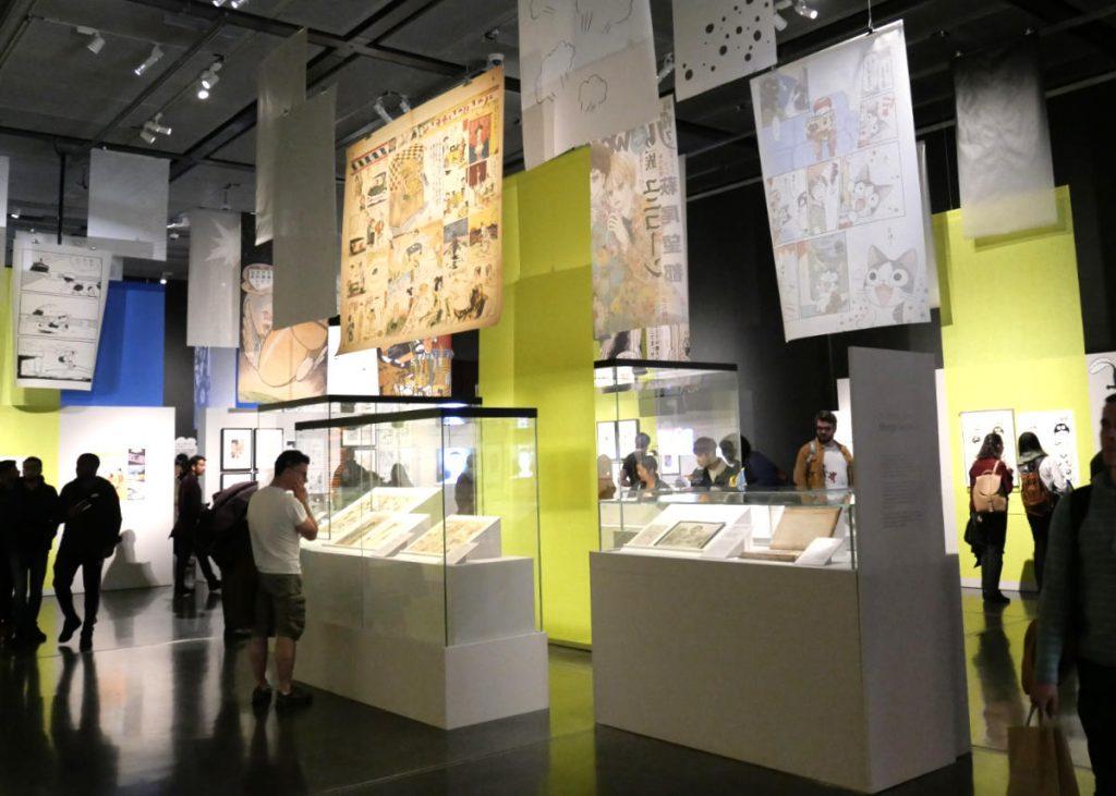 Manga British museum 2019